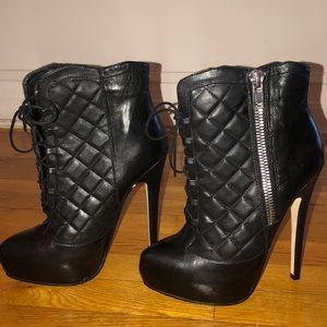 Bebe platform boots